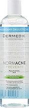 Čistící micelární tekutina pro odlíčení pro kombinovanou a mastnou pleť - Dermedic NormAcne Preventi H2O Micellaire Water — foto N3