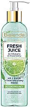 Parfémy, Parfumerie, kosmetika Detoxikační micelární gel - Bielenda Fresh Juice Detox Lime