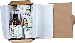 Parfémy, Parfumerie, kosmetika Sada - BeBio Spirulina & Chlorella Algae Set (sh/gel/400ml + b/lot/200ml + deo/roll-on/50ml)