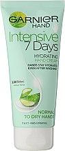 "Parfémy, Parfumerie, kosmetika Krém na ruce ""7 dní"" - Garnier 7 Days Hydration Moisturizing Hand Cream"