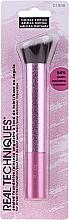 Parfémy, Parfumerie, kosmetika Štětec na make-up - Real Techniques Pretty in Pink Angled Foundation