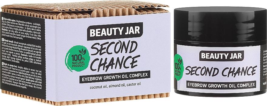 Olejový komplex pro růst obočí - Beauty Jar Second Chance Eyebrow Growth Oil Complex