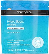 Parfémy, Parfumerie, kosmetika Hydrogelová pleťová maska - Neutrogena Hydro Boost Hydrating Hydrogel Mask