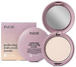 Parfémy, Parfumerie, kosmetika Matující kompaktní pudr - Paese Perfecting & Covering Nanorevit Powder
