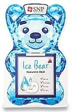 Parfémy, Parfumerie, kosmetika Pleťová maska s kyselinou hyaluronovou - SNP Ice Bear Hyaluronic Mask