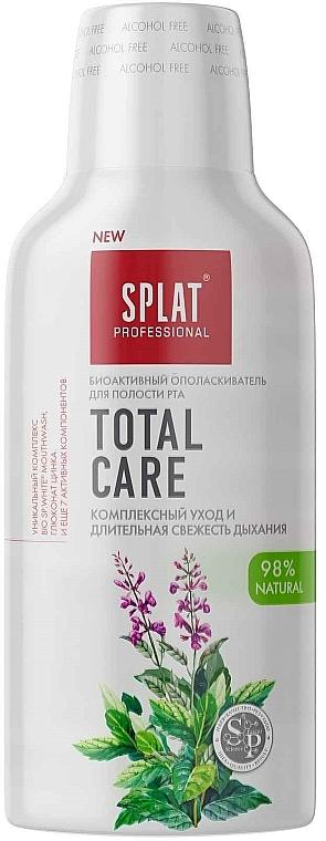 """Antibakteriální ústní voda """"Komplexní péče a dlouhotrvající svěžest dechu"""" - SPLAT Total Care"""