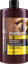 """Parfémy, Parfumerie, kosmetika Šampon na vlasy """"Hydratační"""" s arganovým olejem a keratinem - Dr. Sante Argan Hair"""