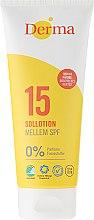 Parfémy, Parfumerie, kosmetika Mléko na opalovaní - Derma Sun Lotion SPF 15