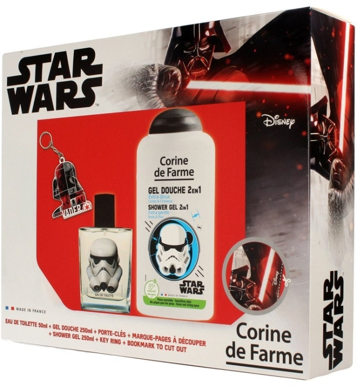 Corine de Farme Star Wars - Sada (edt/50ml +sh/gel/250ml + accessories)