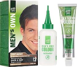 Parfémy, Parfumerie, kosmetika Barva na vlasy pro muže - Henna Plus Men Own Hair Colouring