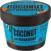 Parfémy, Parfumerie, kosmetika Tělový krém Coconut & Kumquat - Cafe Mimi Body Cream Coconut And Kumquat