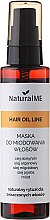 Parfémy, Parfumerie, kosmetika Maska-sprej na vlasy medová - NaturalME Hair Oil Line