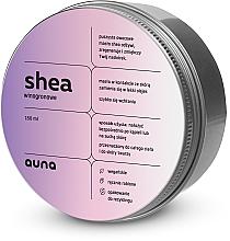 Parfémy, Parfumerie, kosmetika Bambucké máslo na obličej a tělo Hrozny - Auna Shea Grape Butter