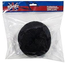 Parfémy, Parfumerie, kosmetika Vlasový váleček, 15x6.5 cm, černý - Ronney Professional Hair Bun 055