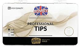 Parfémy, Parfumerie, kosmetika Nehtové tipy čiré, dlouhé - Ronney Professional Tips
