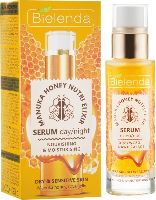 Výživné sérum na obličej - Bielenda Manuka Honey Nutri Elixir Serum