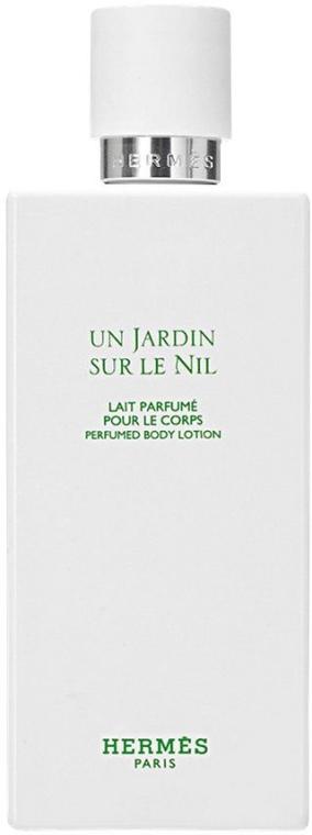 Hermes Un Jardin sur le Nil - Tělové mléko — foto N2