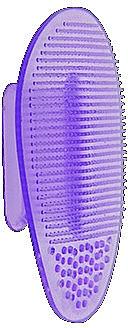 Masážní kartáček na čištění pleti, fialový - Killys