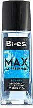 Parfémy, Parfumerie, kosmetika Bi-Es Max - Parfémovaný deodorant-sprej