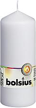 Parfémy, Parfumerie, kosmetika Válcová svíčka, bílá, 150/60 mm - Bolsius Candle