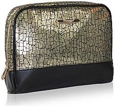 Parfémy, Parfumerie, kosmetika Kosmetická taška 4971, černo zlatá - Donegal