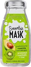 "Parfémy, Parfumerie, kosmetika Normalizační maska ""Avokádo+Kiwi"" - Bielenda Smoothie Mask Prebiotic Normalizing Mask"