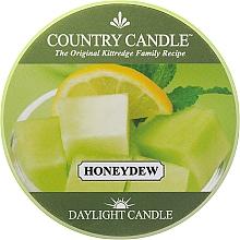 Parfémy, Parfumerie, kosmetika Čajová svíčka - Country Candle Honeydew Daylight