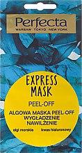 Parfémy, Parfumerie, kosmetika Slupovací maska na obličej s mořskými řasami - Perfecta Express Mask