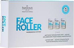 Parfémy, Parfumerie, kosmetika Koncentrát proti stárnutí - Farmona Professional Face Roller Active Anti-Ageing Concentrate