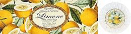 Parfémy, Parfumerie, kosmetika Sada mýdel Citron - Saponificio Artigianale Fiorentino Lemon Soap