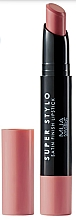 Parfémy, Parfumerie, kosmetika Saténová rtěnka - MUA Academy Super Stylo Satin Finish Lipstick (Fabulicious)