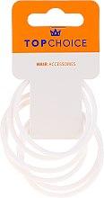 Parfémy, Parfumerie, kosmetika Gumičky do vlasů 22807, bílé - Top Choice