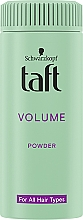 Parfémy, Parfumerie, kosmetika Styling-pudr na vlasy ''Okamžity objem'' - Schwarzkopf Taft Volumen Powder