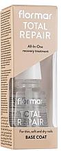 Parfémy, Parfumerie, kosmetika Regenerační přípravek na nehty - Flormar Total Repair Base Coat