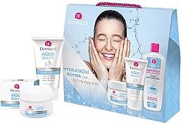 Parfémy, Parfumerie, kosmetika Sada - Dermacol Aqua Beauty (cr/50ml + gel/150ml + lotion/400ml)