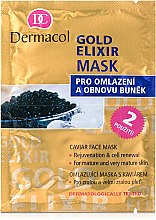 Parfémy, Parfumerie, kosmetika Omlazující maska - Dermacol Gold Elixir Caviar Face Mask