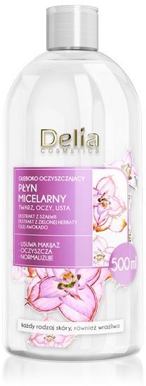 Hluboce čistící micelární voda - Delia Deeply-Purifying Micellar Water