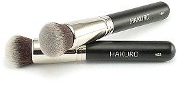 "Parfémy, Parfumerie, kosmetika Štětec na make-up ""H52"" - Hakuro"