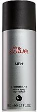 Parfémy, Parfumerie, kosmetika S.Oliver Men - Deodorant ve spreji