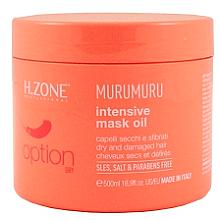 Parfémy, Parfumerie, kosmetika Maska pro suché a poškozené vlasy - H.Zone Option Murumuru Intensivr Mask Oil