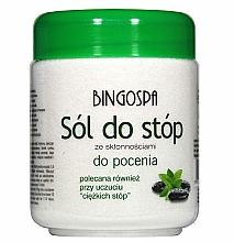 Parfémy, Parfumerie, kosmetika Sůl na nohy náchylné k pocení - BingoSpa Salt For Feet