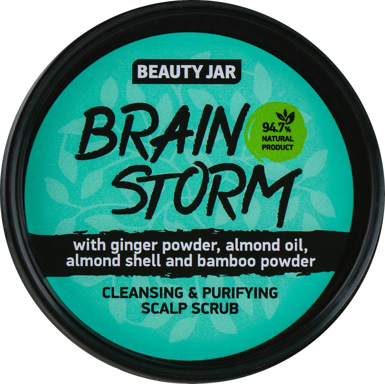 Peeling čisticí pokožku hlavy - Beauty Jar Cleansing & Purifying Scalp Scrub