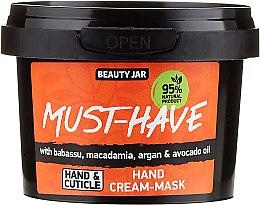 Parfémy, Parfumerie, kosmetika Krémová maska na ruce - Beauty Jar Must-Have Hand Cream-Mask