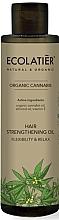 Parfémy, Parfumerie, kosmetika Vlasový olej Pružnost a síla - Ecolatier Organic Cannabis Hair Strengthening Oil