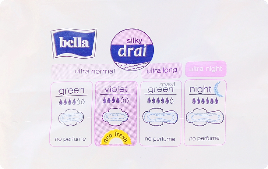 Vložky Perfecta Violet Deo Fresh Soft Ultra, 10 ks - Bella — foto N2