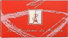 Parfémy, Parfumerie, kosmetika Charrier Parfums Top Ten - Sada (edp/5.2ml+edp/5.5ml+edp/5.5ml+edp/2.8ml+edp/5ml+edp/5.6ml+edp/5ml+edp/4.6ml+edp/5ml+edp/4.9ml)