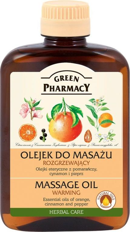 Oteplovácí masážní tělový olej - Green Pharmacy Warming Massage Oil