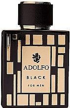 Parfémy, Parfumerie, kosmetika Adolfo Dominguez Black for Men - Toaletní voda
