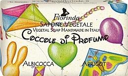 Parfémy, Parfumerie, kosmetika Mýdlo přírodní dětské Meruňka - Florinda Sapone Apricot