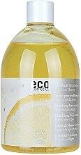 Parfémy, Parfumerie, kosmetika Eko mýdlo s citronovým olejem (níhradní náplň bez dávkovače) - Eco Cosmetics Eco Hand Soap With Lemon